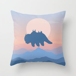 Appa Avatar: The Last Airbender Throw Pillow