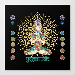 Yoga Studio Canvas Print