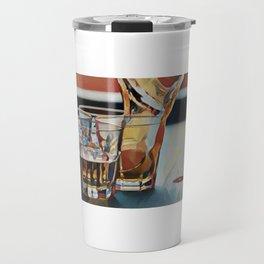 Lude & Pong - Wolf of Wall Street Travel Mug