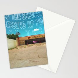 Odesert IV (w/ text) Stationery Cards