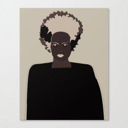lady frankenstein Canvas Print