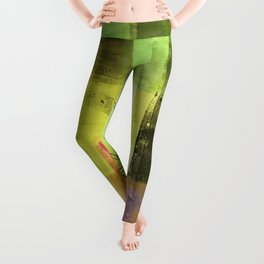 Daydreams of Spring - Lazy Sunday Afternoons Leggings