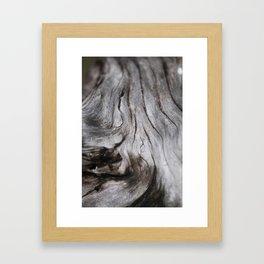 Current Framed Art Print