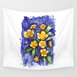 Marsh Marigolds Wall Tapestry