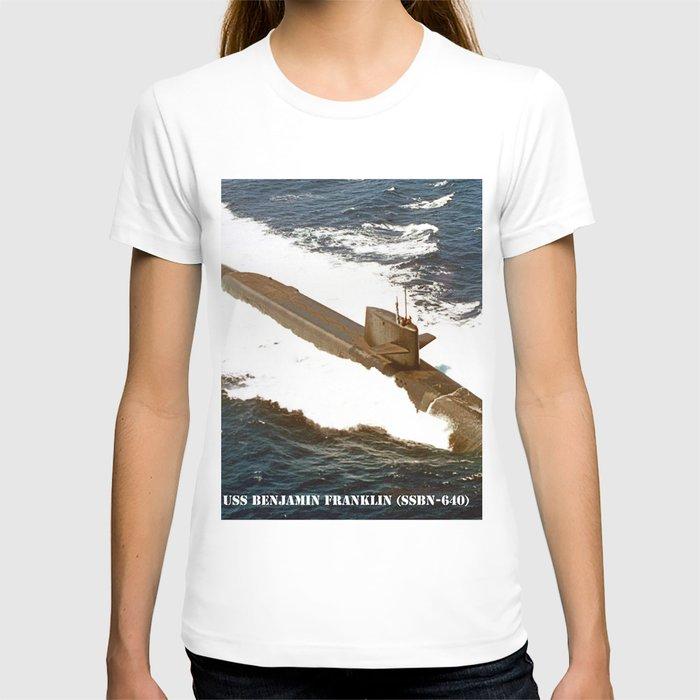 USS BENJAMIN FRANKLIN (SSBN-640) T-shirt