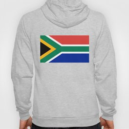 South African flag - high quality image Hoody