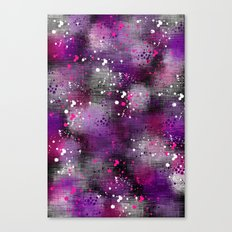 Spotty Blur Canvas Print