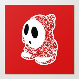 ShyGuy #CrackedOutBadGuys Canvas Print
