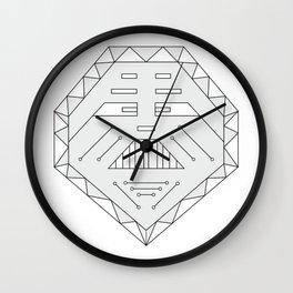 Robot technology #society6 #decor #buyart #artprint Wall Clock