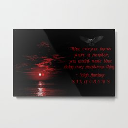 Every Monsterous Thing Metal Print