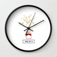 cigarrettes ad Wall Clock