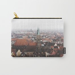 Snow in Nuremberg Carry-All Pouch