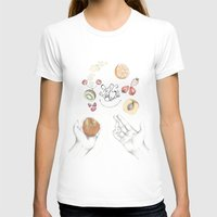 cooking T-shirts featuring Happy Cooking by Ana Mendes