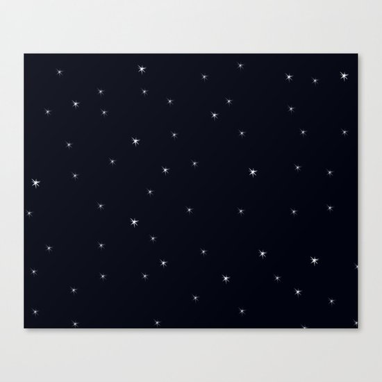 Midnight II Canvas Print