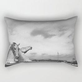 The Kelpies Rectangular Pillow