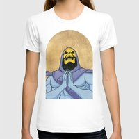 skeletor T-shirts featuring Saint Skeletor by Ghirigori Lab