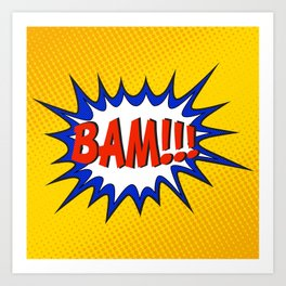 BAM Art Print
