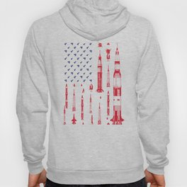 Patriotic Spacecraft Hoody