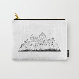 Print VIII / Fitz Roy Carry-All Pouch