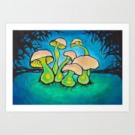 shroomery Art Print