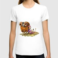 depression T-shirts featuring Bucolic depression by Maria Manoura