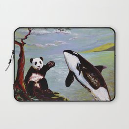 Panda & Orca Laptop Sleeve