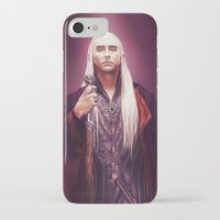 thranduil iPhone & iPod Cases featuring Thranduil by tillieke
