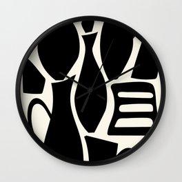 Black carafe Wall Clock