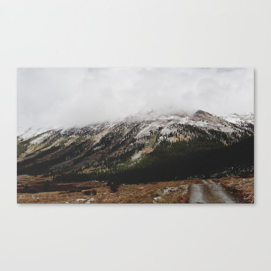 Snowcapped Mountains Canvas Print