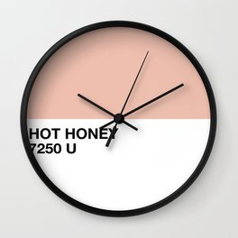 hot honey Wall Clock