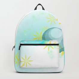Sunshine and Caribbean Water Backpack