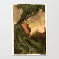 wind Canvas Prints featuring Wind by Iris V.