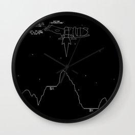 Serenity Lander Wall Clock