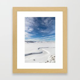 Yellowstone National Park - Trout Creek Framed Art Print