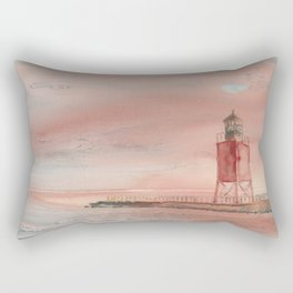 Charlevoix South Pierhead Rectangular Pillow
