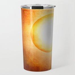 The Cosmic Sun Travel Mug