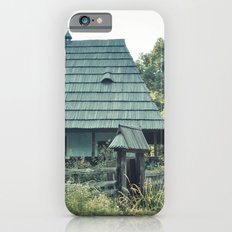 House in the mountains iPhone 6s Slim Case