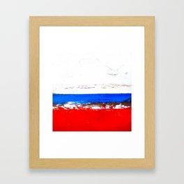 Sections Framed Art Print