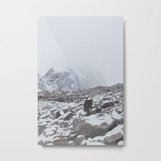 Bugaboo Hike Metal Print