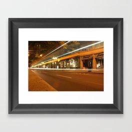 City Bus Framed Art Print