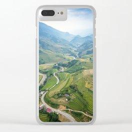 Vietnam Agricultural Landscape Clear iPhone Case