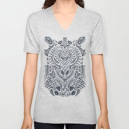 Folklore Pattern 3 Unisex V-Neck