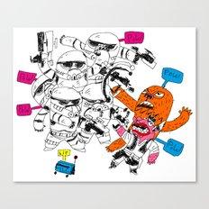 fight the power Canvas Print