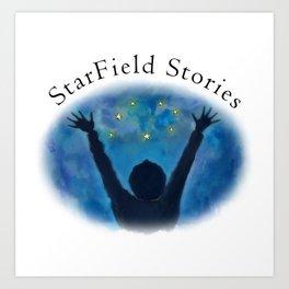 StarField Stories Art Print
