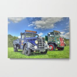 Bedford Dropside Tipper Metal Print