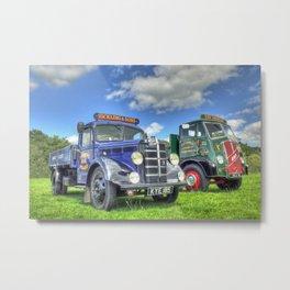 Bedford Dropside Tipper Metal Print