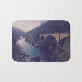 To River and Road Bath Mat