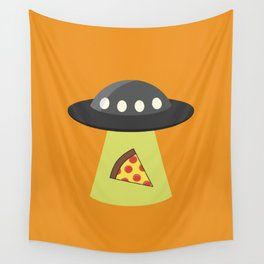 Take Me to Your Pizza Wall Tapestry