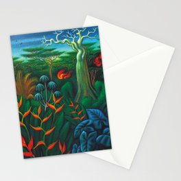 Aves del Paraiso - Birds of Paradise by Miguel Covarrubias Stationery Cards