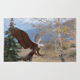 American Eagle in Autumn Rug